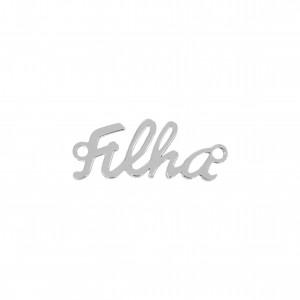 Pingente Filha Níquel 35mm