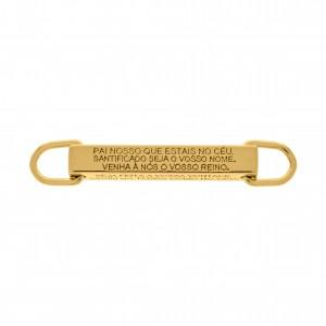 Bridão Pai Nosso Ouro 55,7mm