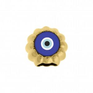 Passador Olho Grego Ouro 15mm