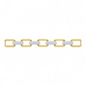 Bridão Montagem Ouro com Elo Branco 150mm