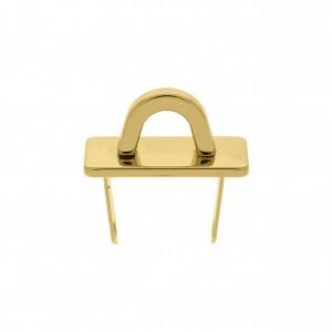 Enfeite para Bolsa Ouro com Garra 27mm