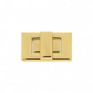 Fecho Retangular Ouro 41mm para Bolsa
