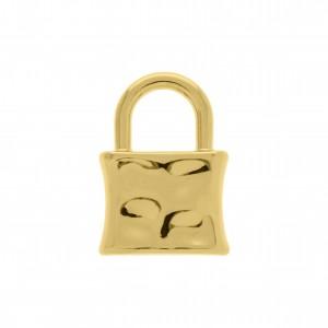 Pingente Cadeado Ouro 21mm