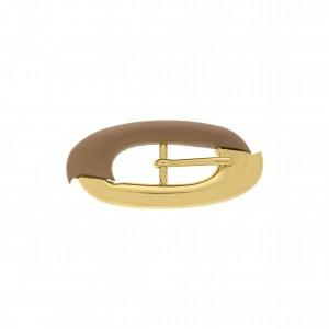 Fivela Ouro com Aplique 37mm