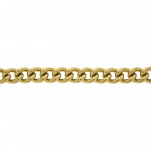 Corrente Ouro 3mm de Espessura com Elo de 15mm