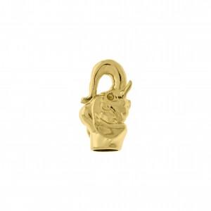 Ponteira Elefante Ouro 22mm