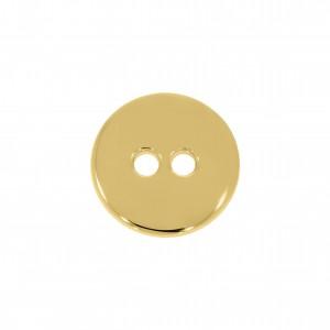 Botão Redondo Ouro 17mm