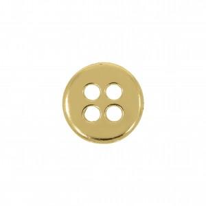 Botão Redondo Ouro 12mm