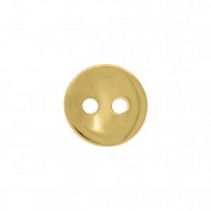 Botão Redondo Ouro 11mm