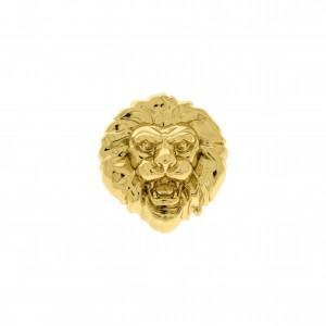 Ponteira Leão Ouro 25mm
