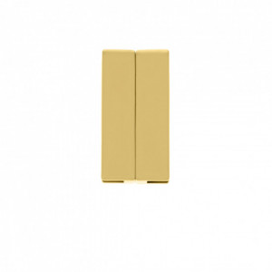 Fechamento Imã Retangular Ouro 19mm