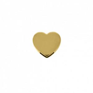 Passador Coração Ouro 19mm