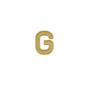 Passador Letra G Ouro 13mm