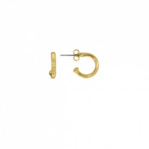 Base para Brinco Argola Ouro 14 mm
