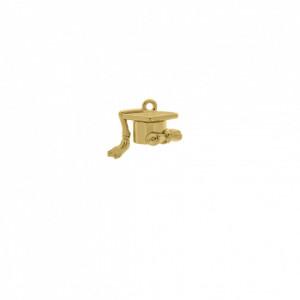 Pingente Ouro Capelo 16mm