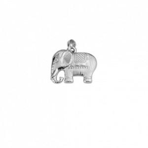 Pingente Níquel Elefante 25mm