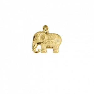 Pingente Ouro Elefante 25mm