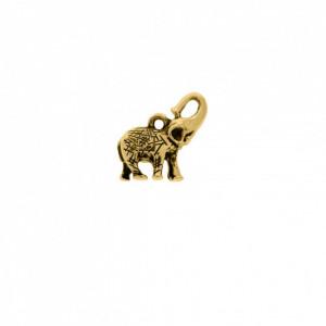 Pingente Ouro Elefante 24mm