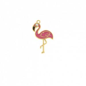 Pingente Ouro Flamingo 35mm