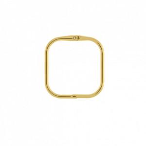 Base para Pulseira Quadrada Ouro 64mm