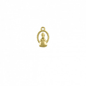 Pingente Ouro Papa 21mm