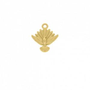 Pingente Ouro Pomba Espírito Santo 22,5mm