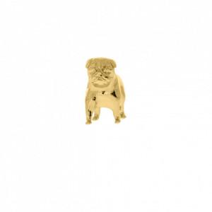 Pingente Ouro Pug 21mm