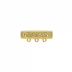 Tubo Arabescado Ouro 35mm