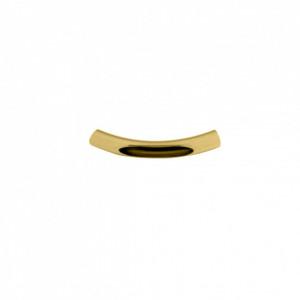 Tubo Vazado Ouro 35mm