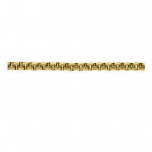 Corrente Redonda Ouro 4,8mm de Espessura com Elo de 4,8mm