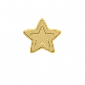 Piercing de Chinelo Estrela Ouro 16mm