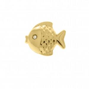 Piercing de Chinelo Peixe Ouro 20mm